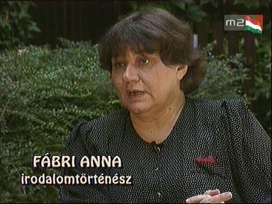 Fábri Anna, irodalomtörténész