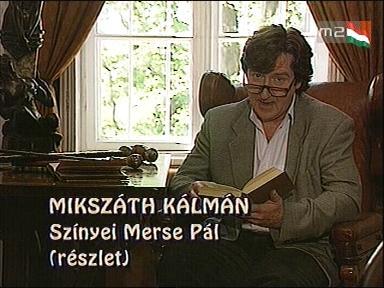 Mikszáth Kálmán: Szinyei Merse Pál (részlet)