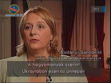 Ladányi Sándorné, elnök, Újpesti Ukrán Önkormányzat