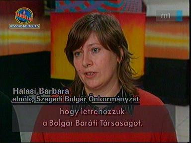 Halasi Barbara, elnök, Szegedi Bolgár Önkormányzat
