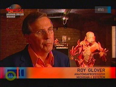 Roy Glover, anatómiaprofesszor, Michigan Egyetem