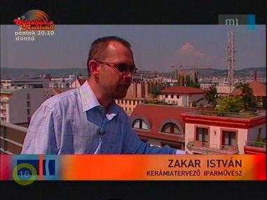 Zakar István, kerámiatervező iparművész