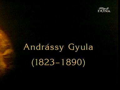 Magyar történelmi arcképcsarnok: Andrássy Gyula (1823-1890)