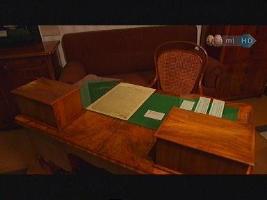 Deák Ferenc íróasztala