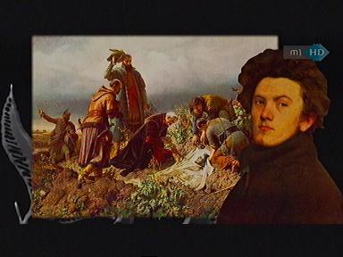 Székely Bertalan: Önarckép (festmény)