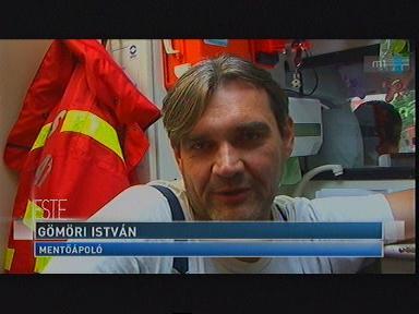 Gömöri István, mentőápoló