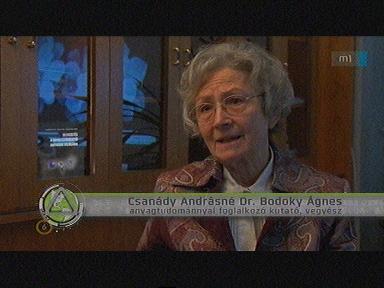 Csanády Andrásné dr. Bodoky Ágnes, anyagtudományokkal foglalkozó kutató, vegyész