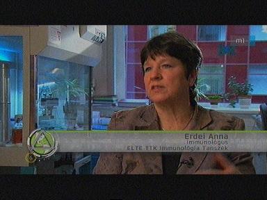 Erdei Anna, immunológus. ELTE TTK Immunológiai Tanszék