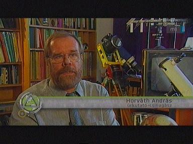 Horváth András, űrkutató, csillagász
