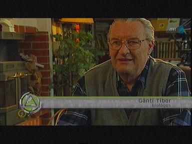 Gánti Tibor, biológus