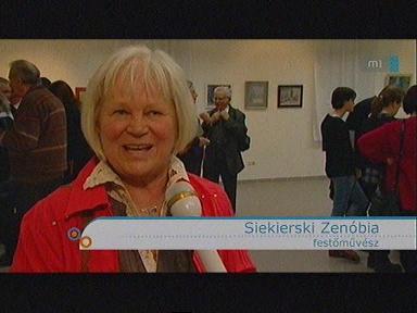 Siekierski Zenóbia, festőművész