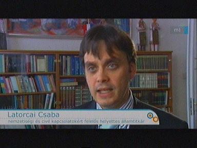 Latorcai Csaba, nemzetiségi és civil kapcsolatokért felelős helyettes államtitkár