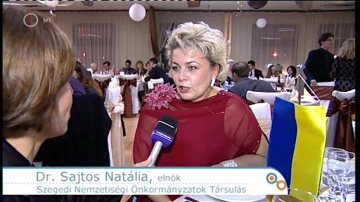 Dr. Sajtos Natália, elnök, Szegedi Nemzetiségi Önkormányzatok Társulás