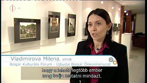 Vladimirova Milena, elnök, Bolgár Kulturális Fórum - Újbudai Bolgár Önkormányzat
