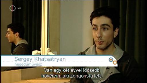 Sergey Khachatryan, hegedűművész [!]