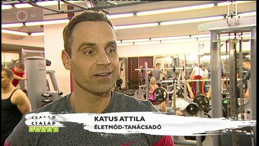 Katus Attila, életmód-tanácsadó