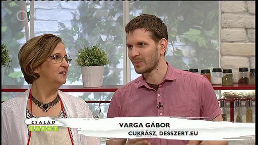 Varga Gábor, cukrász, desszert.eu [jobbra]