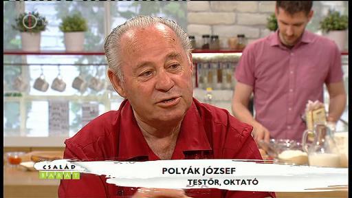Polyák József, testőr, oktató