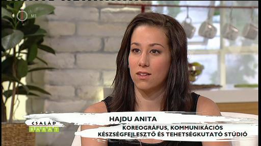 Hajdu Anita, koreográfus, Harsányi Gábor Tehetségkutató és Kommunikációs Készségfejlesztő Stúdió