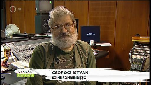 Csörögi István, szinkronrendező