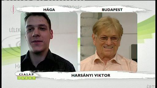 Harsányi Viktor [balra]