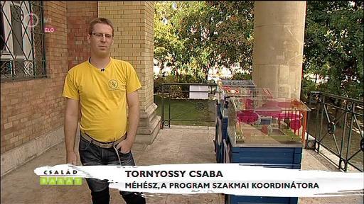 Tornyossy Csaba, méhész, szakmai koordinátor