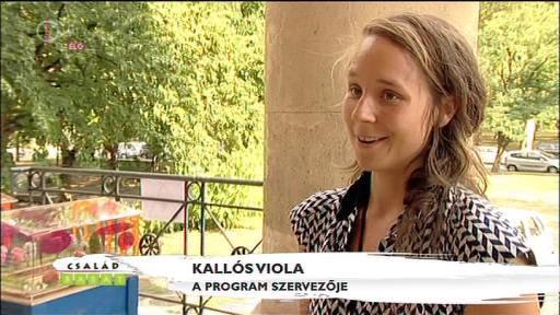 Kallós Viola, programszervező
