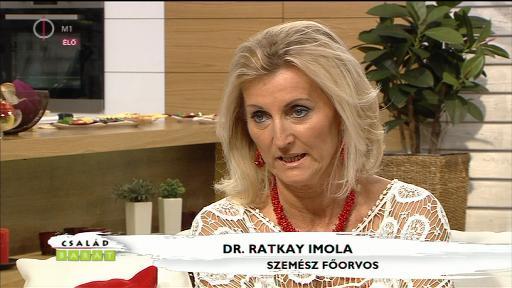 dr. Ratkay Imola, szemész főorvos