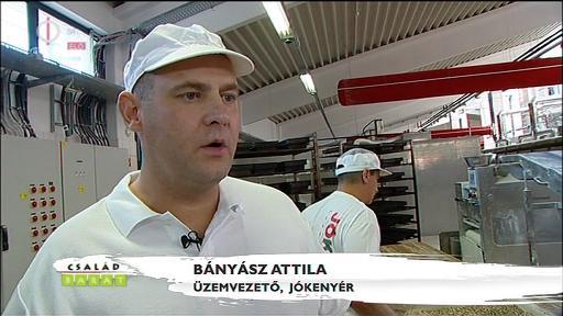 Bányász Attila, üzemvezető, Jókenyér