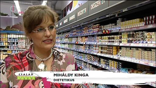 Miháldy Kinga, dietetikus
