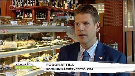 Fodor Attila, kommunikációs igazgató, CBA