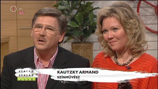 Kautzky Armand, színművész [balra]