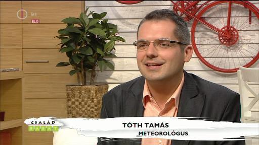 Tóth Tamás, meteorológus
