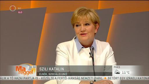 Szili Katalin (Szociális Unió), elnök
