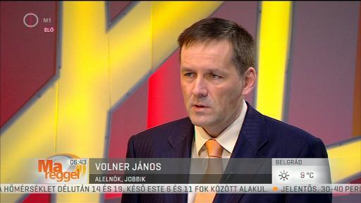 Volner János (Jobbik), alelnök