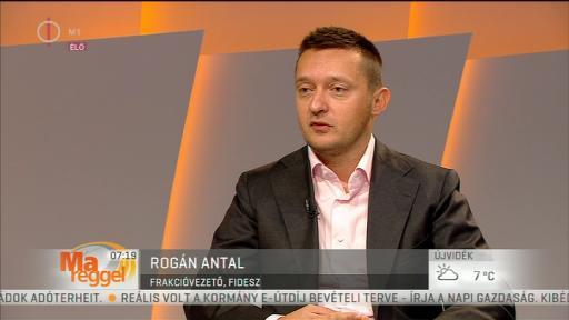 Rogán Antal (Fidesz), frakcióvezető