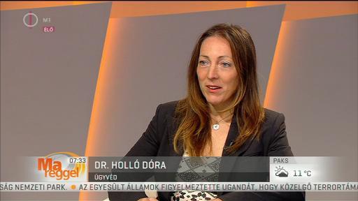 dr. Holló Dóra, ügyvéd