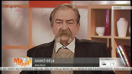 Gaskó Béla, biológus