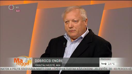 Dobroncsi Endre, főosztályvezető, NKH