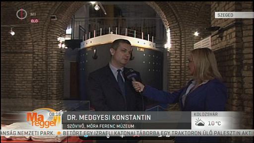 dr. Medgyesi Konstantin, szóvivő, Móra Ferenc Múzeum