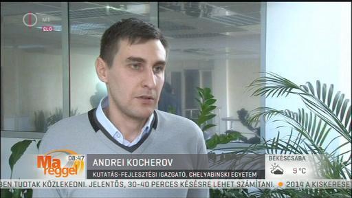 Andrei Kocherov, kutatás-fejlesztési igazgató, Chelyabinski Egyetem