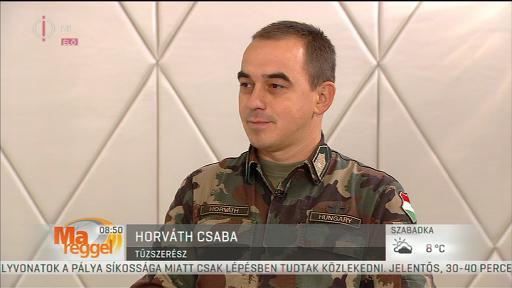 Horváth Csaba, tűzszerész