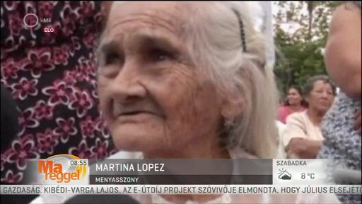 Martina Lopez, menyasszony