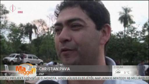 Christian Pavia, pap