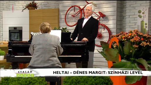Heltai - Dénes Margit: Színházi levél - előadja Kovács István