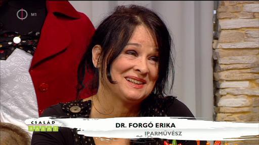 Dr. Forgó Erika, iparművész