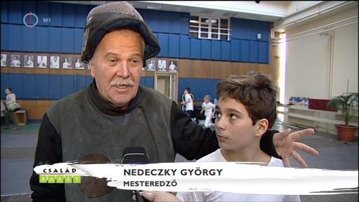 Nedeczky György, mesteredző [balra]