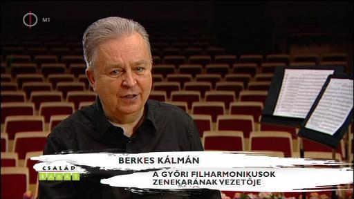 Berkes Kálmán, zenekarvezető, Győri Filharmonikusok