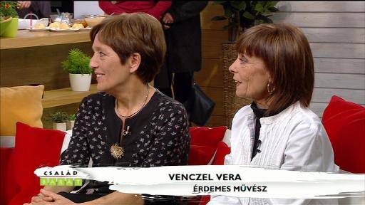 Venczel Vera, érdemes művész [jobbra]