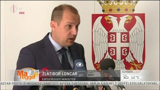 Zlatibor Loncar, egészségügyi miniszter